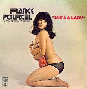 LP - Franck Pourcel E Sua Grande Orquestra – She's A Lady
