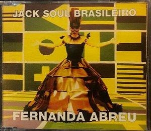 CD – Fernanda Abreu Featuring Lenine – Jack Soul Brasileiro (EP)