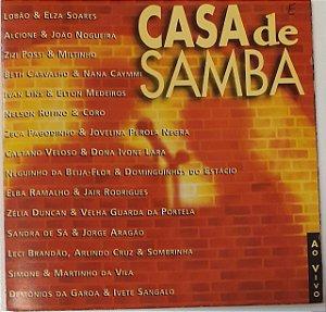 CD - Casa de Samba Ao Vivo