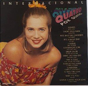 CD - Quatro Por Quatro Internacional (Novela Globo) (Vários Artistas)