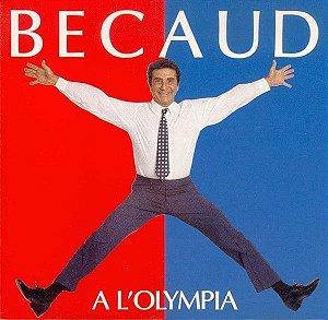 CD - Gilbert Bécaud – Becaud A L'Olympia