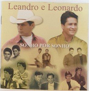 CD - Leandro E Leonardo – Sonho Por Sonho