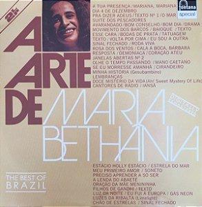 LP - Maria Bethânia (Coleção A Arte De) - LACRADO DUPLO - 1988