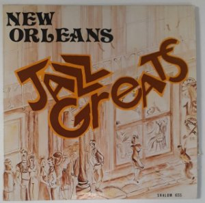LP - New Orleans Jazz Greats