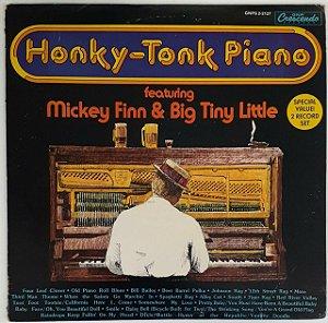 LP - Mickey Finn & Big Tiny Little – Honky-Tonk Piano - DUPLO - Importado (US)