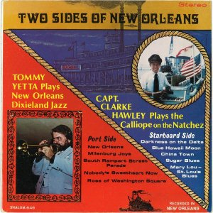 LP Tommy Yetta, Capt. Clarke Hawley – Two Sides Of New Orleans - Importado (US)