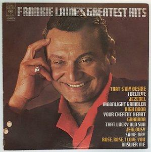 LP - Frankie Laine – Frankie Laine's Greatest Hits - Imporado (US)