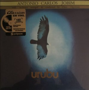 LP - Antonio Carlos Jobim with orchestra arranged & conducted by Claus Ogerman – Urubu (Lacrado) Polysom