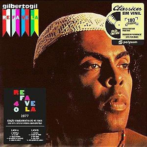 LP - Gilberto Gil – Refavela (Novo -Lacrado) Polysom