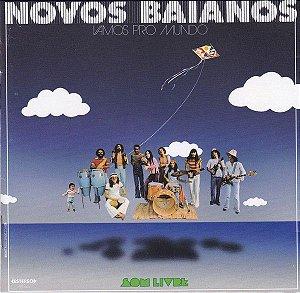 LP - Novos Baianos – Vamos Pro Mundo (Lacrado)