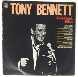 LP - Tony Bennett ‎– Tony Bennett Greatest Hits