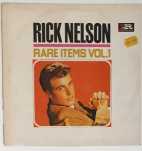 LP - Ricky Nelson ‎– Rare Items Vol.1