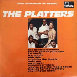 LP The Platters ‎– The Platters