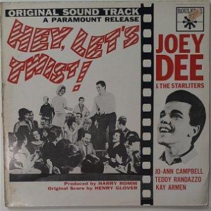 LP - Joey Dee & The Starliters – Hey, Let's Twist! (Original Soundtrack Recording) (Importado (Germany))