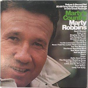 LP - Marty Robbins – Marty's Country (Importado (US))