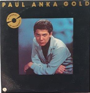 LP - Paul Anka Gold (Importado (US)) duplo