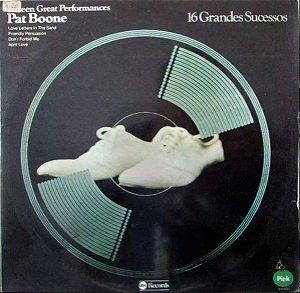 LP - Pat Boone – 16 Great Performances (16 Grandes Sucessos)
