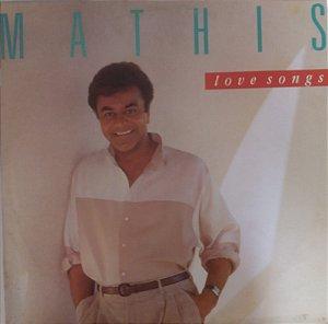 LP - Johnny Mathis – Love Songs