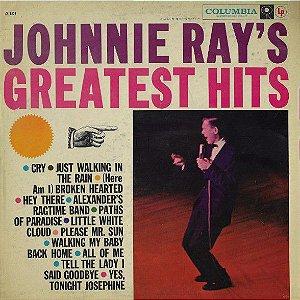 LP - Johnnie Ray – Johnnie Ray's Greatest Hits (IMP - USA)