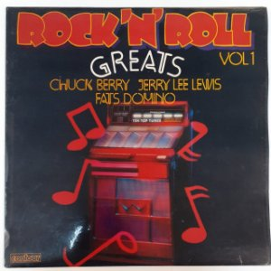 LP - Rock 'N' Roll Greats Vol 1 (Importado (England))