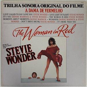 LP - Stevie Wonder – The Woman In Red (A Dama De Vermelho (TSO)