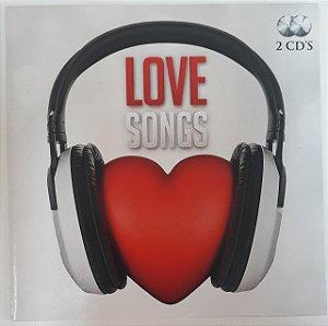 CD - Love Songs (Vários Artistas) - DUPLO