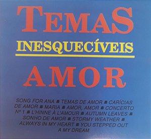 CD - Pedro Puppo and His Orchestra - Temas Inesquecíveis de Amor