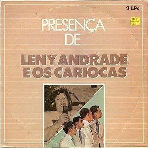 LP - Leny Andrade E Os Cariocas – (Coleção Presença De) - (Dois LPs)
