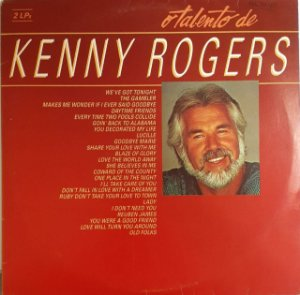LP - Kenny Rogers (Coleção O Talento de) (Dois LPs)