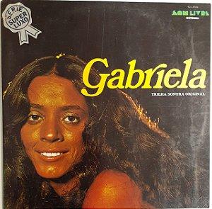 LP - Gabriela (Novela Globo) - Série Super Luxo (Capa dupla)