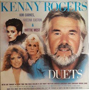 LP - Kenny Rogers With Kim Carnes, Sheena Easton & Dottie West – Duets