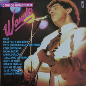LP - Wando – O Mundo Romântico De Wando