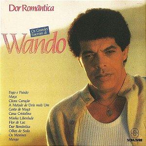 LP - Wando – Dor Romântica - Os Grandes Sucessos de Wando