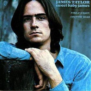 LP - James Taylor – Sweet Baby James