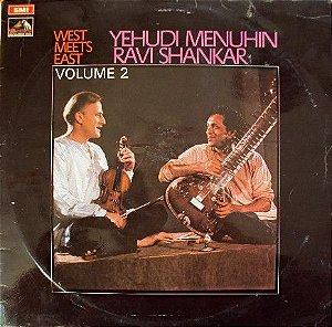 LP - Yehudi Menuhin & Ravi Shankar – West Meets East Volume 2