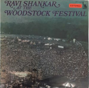 LP - Ravi Shankar – At The Woodstock Festival (PROMO)