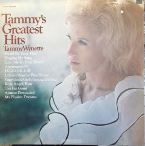 LP - Tammy Wynette – Tammy's Greatest Hits
