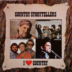 LP - Country Storytellers (Coleção I Love Country) (Vários Artistas)