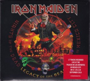 CD - Iron Maiden – Nights Of The Dead, Legacy Of The Beast, Live In Mexico City (Cd duplo - Novo / lacrado)