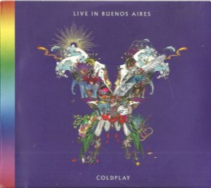 CD - Coldplay – Live In Buenos Aires (CD DUPLO) - Novo Lacrado