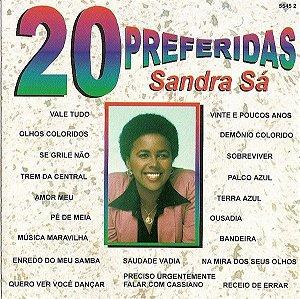 CD - Sandra De Sá (Coleção 20 Preferidas)