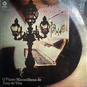 LP - Tony De Vita – Piano Maravilhoso vol. 2