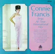 LP - Connie Francis ‎– Sings The All Time International Hits