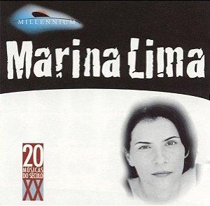 CD - Marina Lima (Coleção Millennium - 20 Músicas Do Século XX)