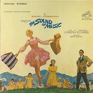 LP - A Noviça Rebelde - Rodgers And Hammerstein / Julie Andrews, Christopher Plummer, Irwin Kostal – (Trilha Sonora Original Do Filme) (Vários Artistas)