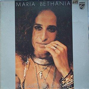 LP - Maria Bethânia – Pássaro Da Manhã