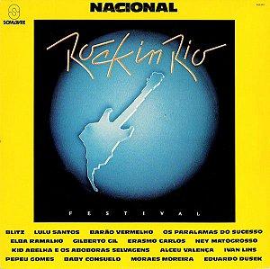 LP -  Rock In Rio Nacional (Vários Artistas)