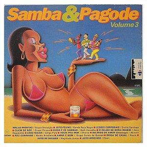 CD – Samba & Pagode Volume 3 (Vários Artistas)