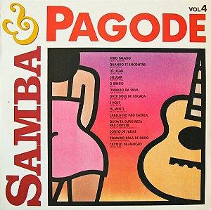CD - Samba & Pagode Volume 4 (Vários Artistas)