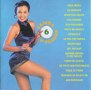 CD - Samba & Pagode Volume 6 (Vários Artistas)